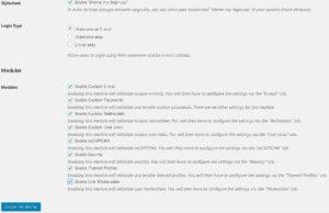 Cara membuat halaman login dan register di blog wordpress self hosted 1
