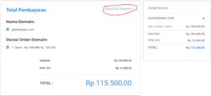 cara beli domain dan hosting bayar lewat indomaret terbaru 5