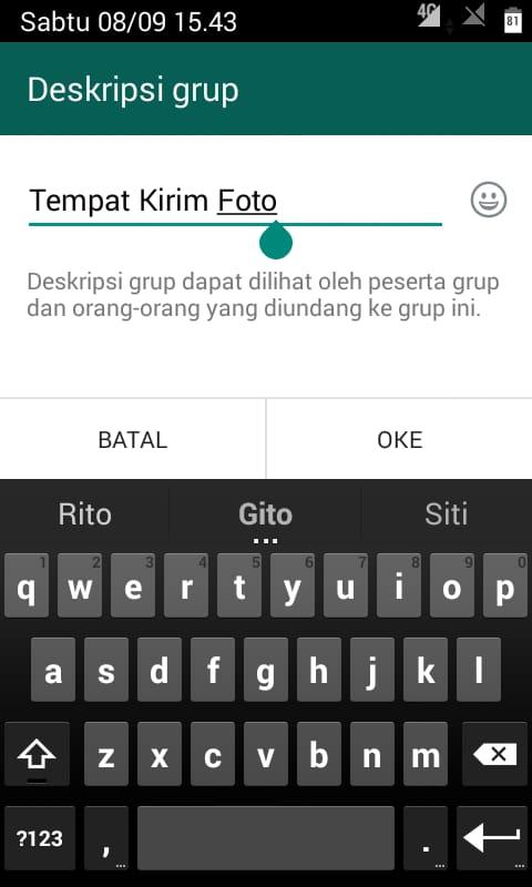 Cara Menambahkan Deskripsi Grub Whatsapp (2)