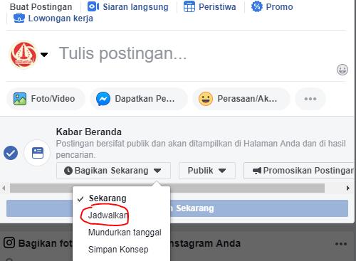Rahasia Cara Membuat Postingan Terjadwal Di Fanspage Facebook Gratis! 1