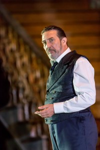 Ciaran Hinds as Claudius - Pictures by Johan Persson for The Barbican