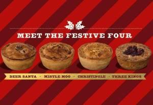 Pieminster festive pies