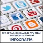 Guía de tamaño de imágenes en Redes Sociales 2018
