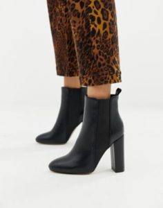 Dressy Heeled Ankle Boots
