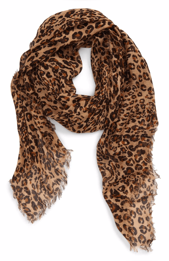 11 Warm Animal Print Scarves You'll Be Obsessed With This Winter