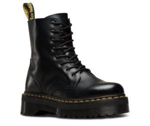 Black Platform Dr. Martens Boots