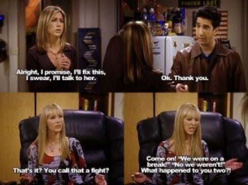 My Favourite Friends Moments Of All Time