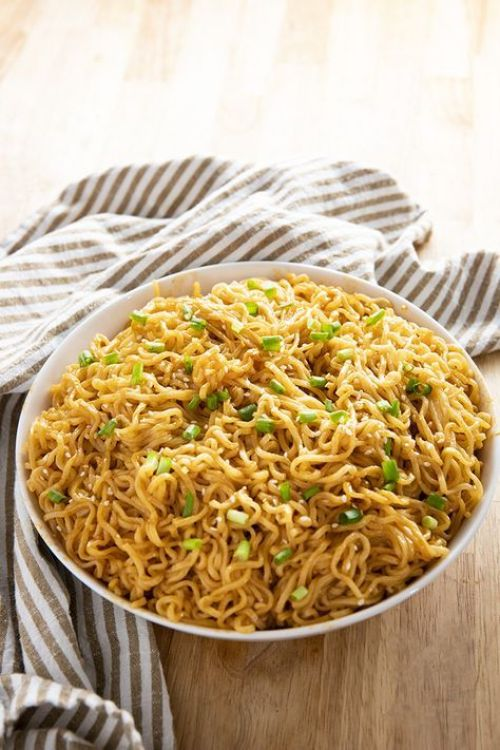 10 Recipes Using Ramen Noodles