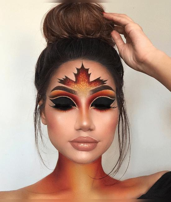 20 Cute Halloween Makeup Ideas