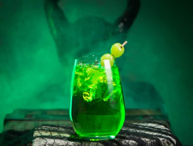 The maleficent cocktail.