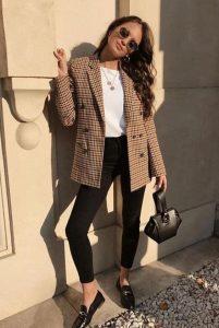 blazer outfit