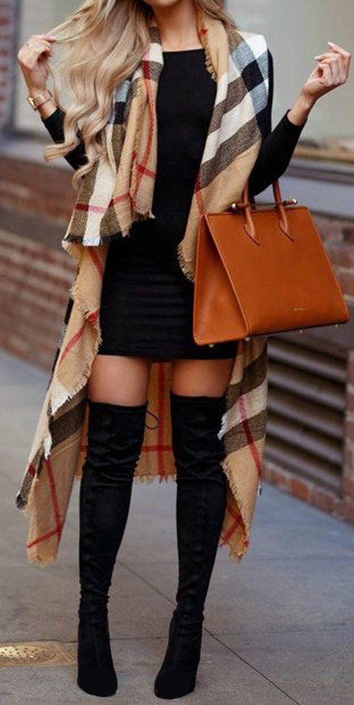 How To Style Thigh High Boots Society19