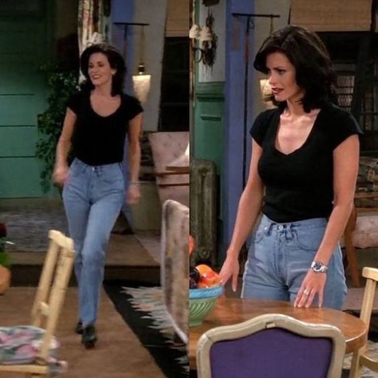 10 outfits monica wore on friends that we still can u0026 39 t get
