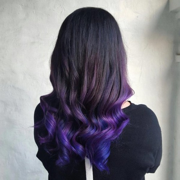 Which Hair Dip Dye You Should Try Based Off Your Natural Color
