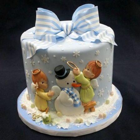 10 Christmas Themed Cakes