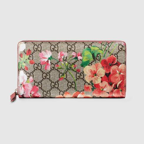 Girls Wallet Colorful Hibiscus Flower Choose Your Color