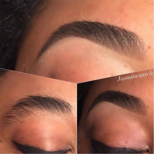 Threaded Eyebrows is a must, the benefits you get from threading is much more pleasing to the eye.