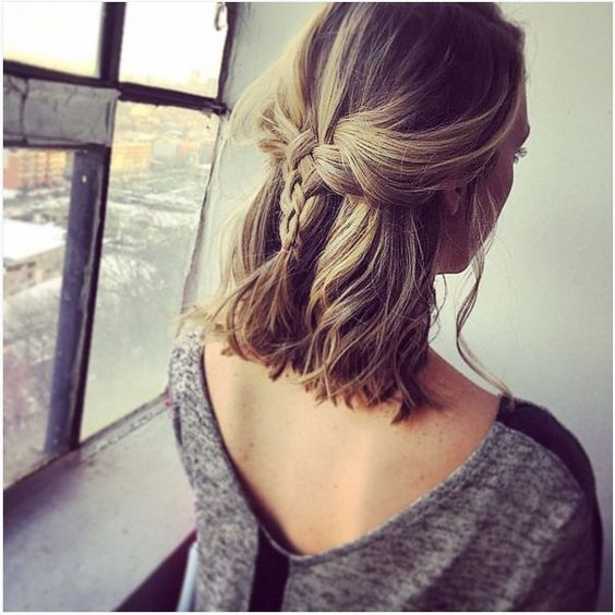 Easy Boho Hairstyles For Short Hair Society19
