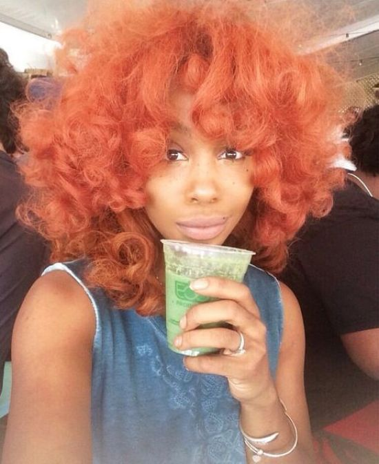 Non-Natural Hair Colors That Look Stunning On Black Women