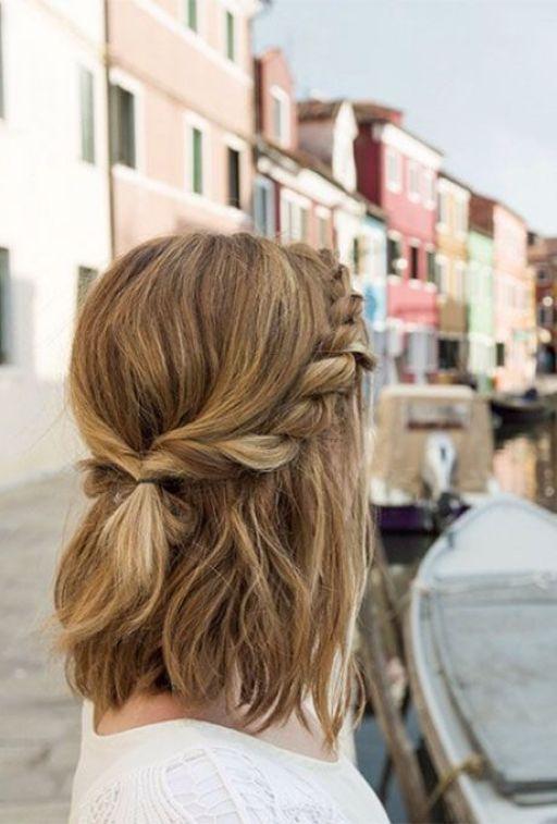 Easy Boho Hairstyles For Short Hair