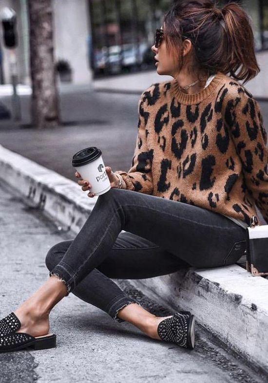 12 Animal Print Sweaters Your Winter Wardrobe Needs