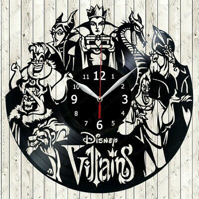 Disney villain clock.