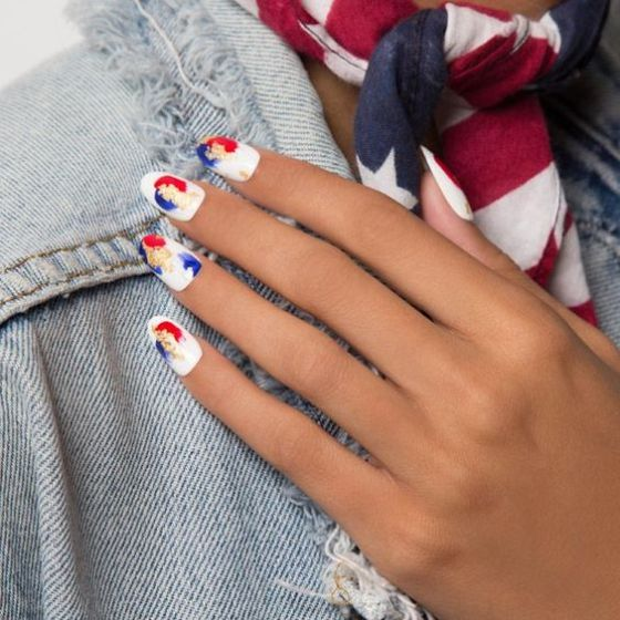 Multi-Colored Fourth Of July Nails That Go Beyond Red, White, And Blue