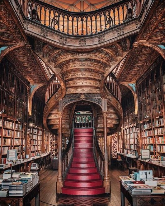 5 Most Beautiful Book Shops In Europe