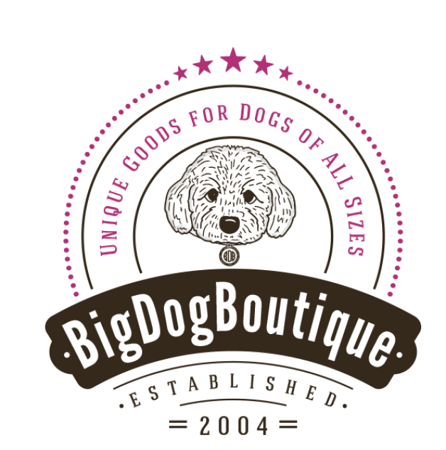 Big Dog Boutique is not like Petsmart, their size options for collars fit a variety of sizes from petite fur babies all the way up to giant dog breeds.