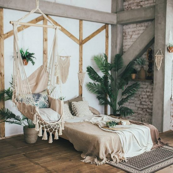 Small House Decor Hanging Chair