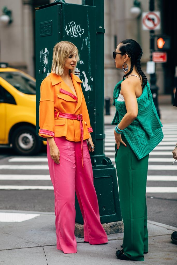 How Style The Color Block Trend Without Failing