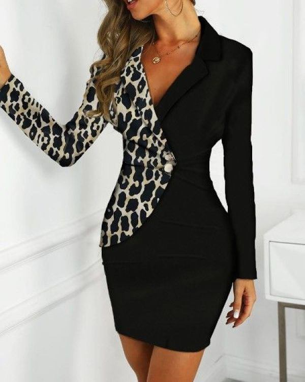Patterns do not always have to be animal print, they could consist of stripes, graphic tee patterns, and other designs.