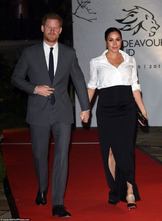 10 Wonderful Pregnancy Outfits Worn By Meghan Markle