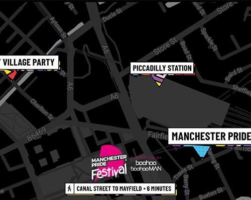 Manchester Pride Location