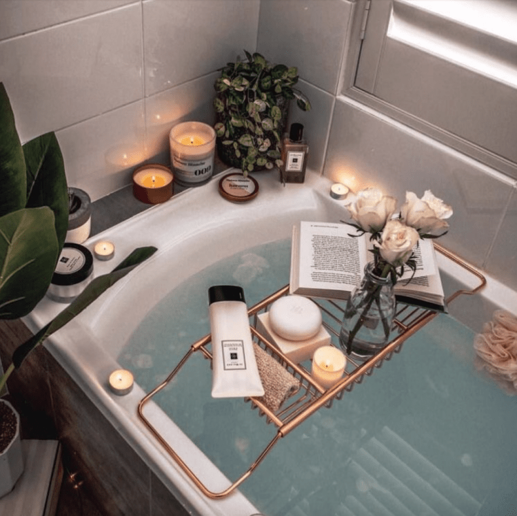 beauty bath to get rid of dry skin