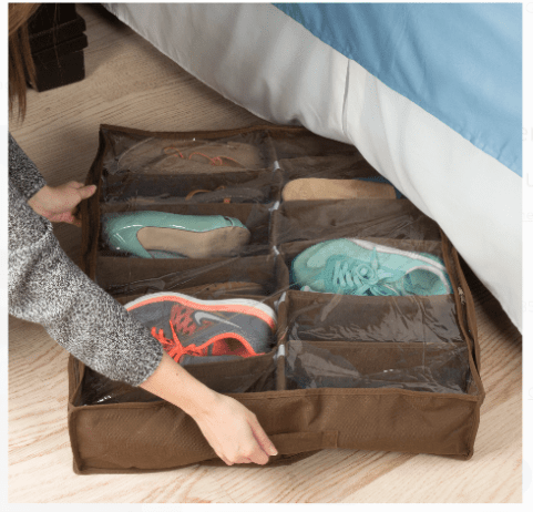 10 shoe organizer idea to help clean up your dorm
