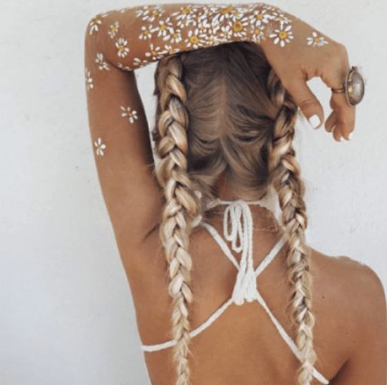 8 Cutest Hairstyles For Festival Season