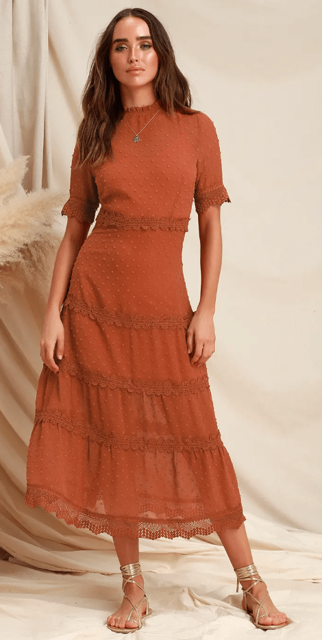 10 Fall Dresses You'll Look Stunning In