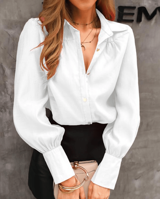 *10 Not So Classic White Buttondowns We Love For Spring 2020