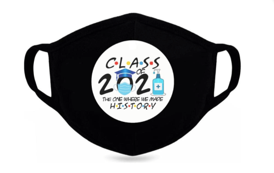 *Graduation Masks Made For The Class Of 2021