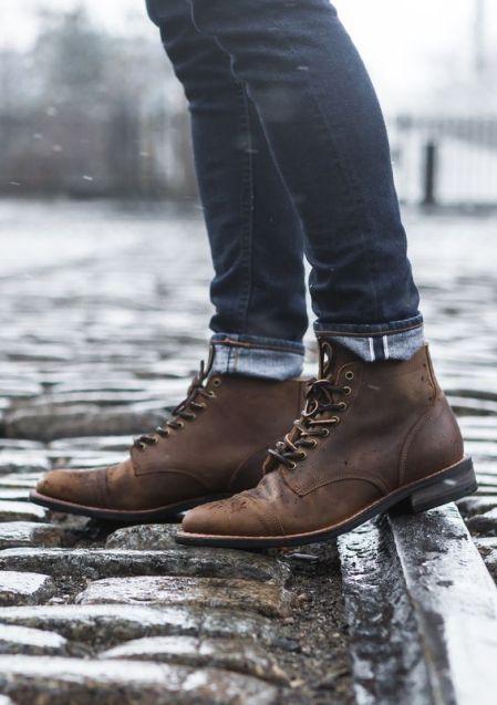 Brown Leather Vanguards