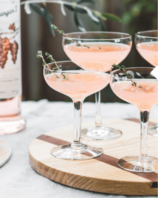 8 Luscious, Romantic, Cocktails to Make For You And Your Honey This Valentine's Day