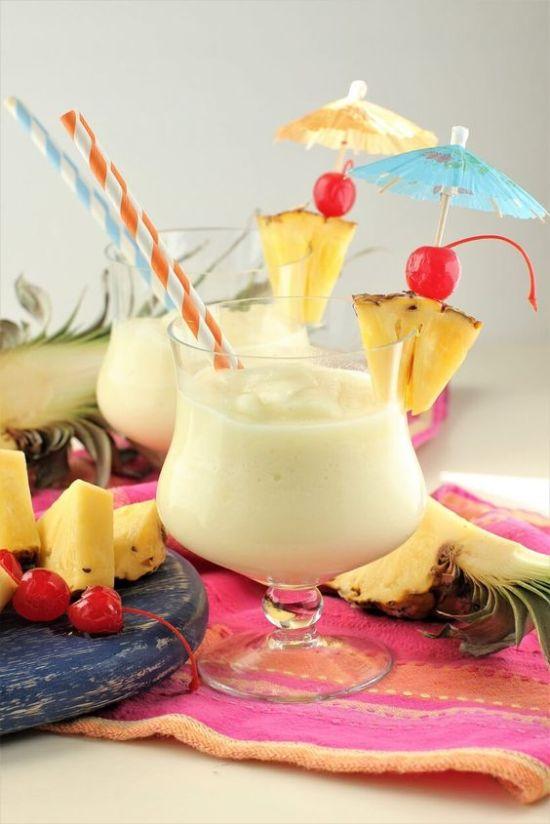 Fruitiest Mocktails - Pina Colada