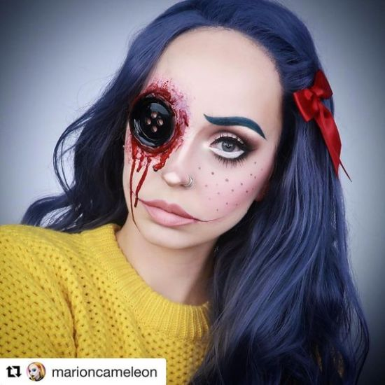 10 Halloween Costumes To Showcase Your Makeup Skills Society19