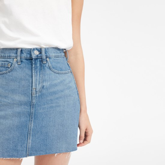 10 Ways To Rock A Denim Skirt