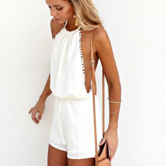 *10 Ways To Style The Halter Top Trend This Summer
