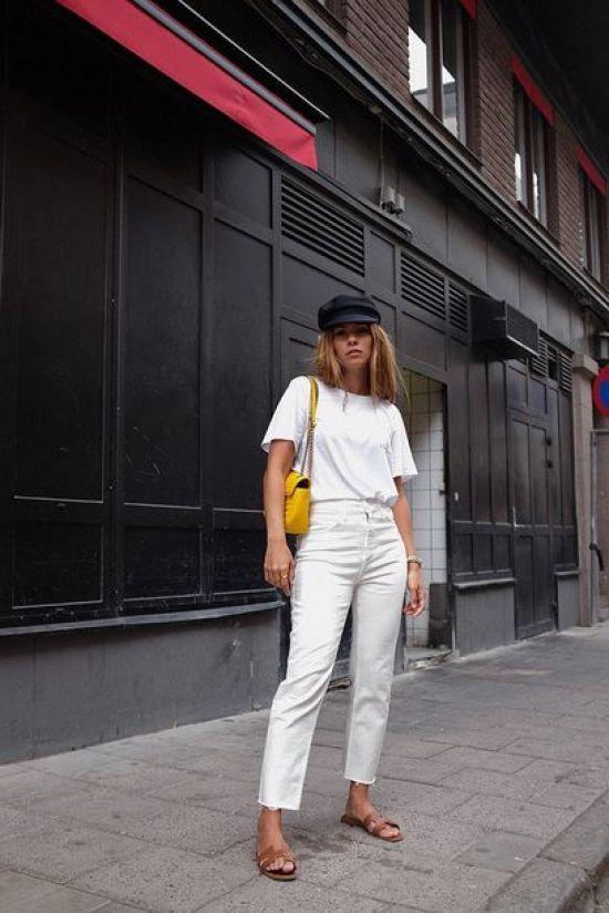 5 Ways To Style White Jeans