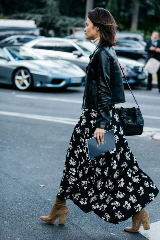 10 Ways To Wear A Dress This Fall And Look Totally Fancy