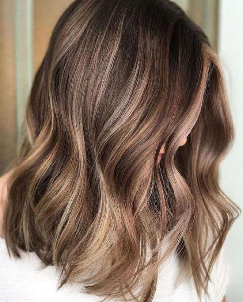 15 Ideas For Light Brown Balayage Society19