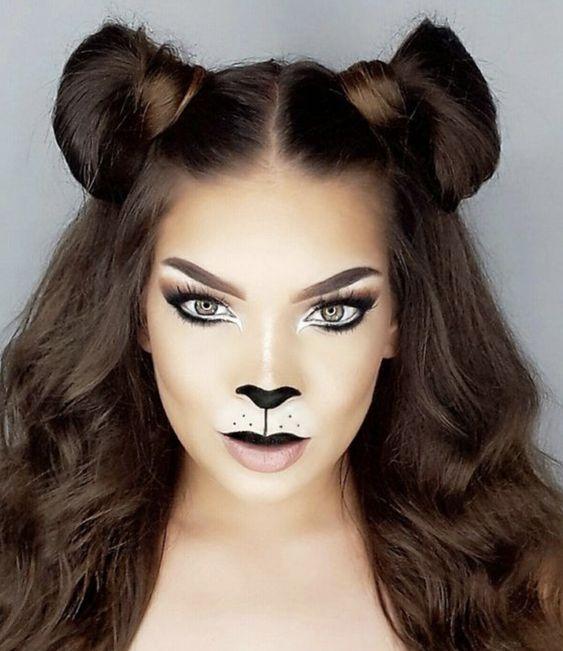 25 Easy Halloween Makeup Ideas Society19
